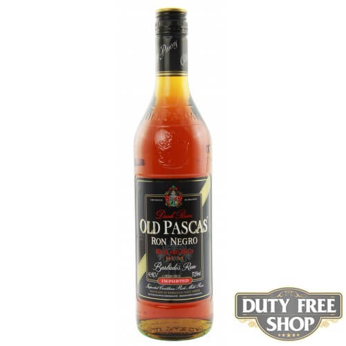 Ром Old Pascas Barbados Dark Rum 37.5% 0.7L Duty Free