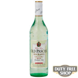 Ром Old Pascas Barbados White Rum 37.5% 1L Duty Free