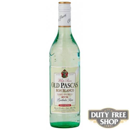 Ром Old Pascas Barbados White Rum 37.5% 1L Duty Free