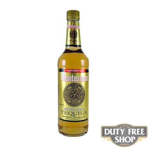 Текила Montezuma Aztec Gold 40% 1L Duty Free