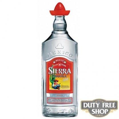 Текила Sierra Silver 38% 1L Duty Free