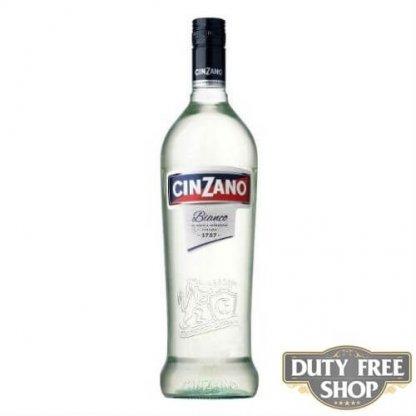 Вермут Cinzano Bianco 15% 1L Duty Free