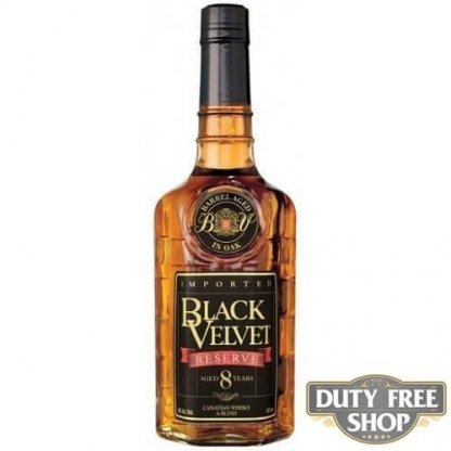 Виски Black Velvet 8Y 40% 1L Duty Free