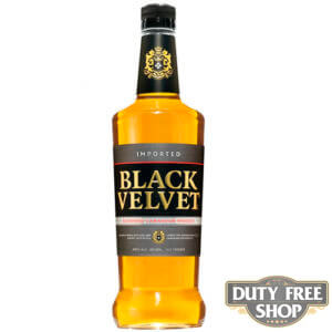 Виски Black Velvet Original 40% 1L Duty Free