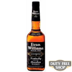 Виски Evan Williams Black Label 40% 1L Duty Free
