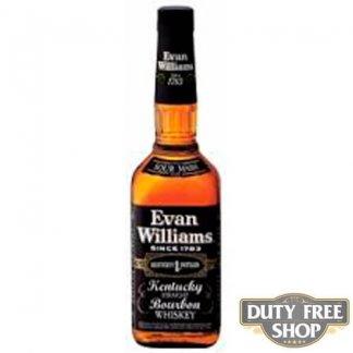 Виски Evan Williams Black Label 40% 1L Duty Free