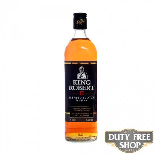 Виски King Robert II 43% 1L Duty Free