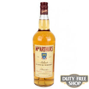 Виски MacArthur's Select Scotch Whisky 40% 1L Duty Free