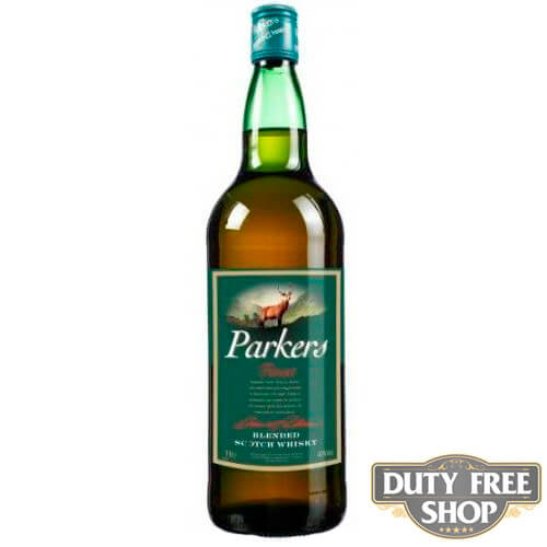Виски Parker's Finest Scotch Whisky  40% 1L Duty Free