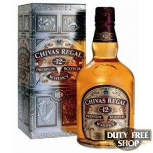 Виски Chivas Regal 12Y 40% 1L Duty Free