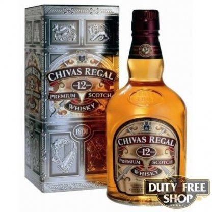 Виски Chivas Regal 12Y 40% 1L Duty Free